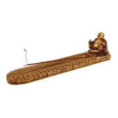 Porte-Encens Bouddha ~ Longueur : 24,00 cm - Largeur : 5,00 cm - Hauteur : 6,00 cm