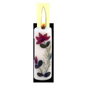 Jasmin : Bougie Naturelle Parfumée à l' Huile Essentielle (2,00 cm x 7,00 cm)