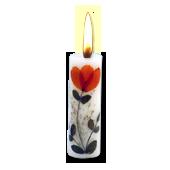 Santal : Bougie Naturelle Parfumée à l' Huile Essentielle (2,00 cm x 7,00 cm)
