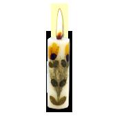 Patchouli : Bougie Naturelle Parfumée à l' Huile Essentielle (2,00 cm x 7,00 cm)