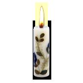 Fleurs de Printemps : Bougie Naturelle Parfumée aux Huiles Essentielles (2,00 cm x 7,00 cm)