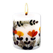 Tubéreuse : Bougie Naturelle Parfumée à l' Huile Essentielle (7,00 cm x 8,00 cm)