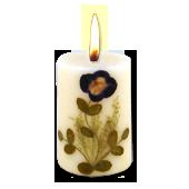Opium : Bougie Naturelle Parfumée à l' Huile Essentielle (4,50 cm x 7,00 cm)