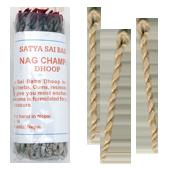 Nag Champa : Cordelettes Népalaises au Nag Champa ~ Sachet de 50 Cordelettes
