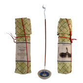 Cèdre : Encens d' Aromathérapie ( Mantra ) ~ Étui de 50 Bâtonnets + 1 Porte-Encens