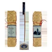 Patchouli : Encens d' Aromathérapie ( Mantra ) ~ Étui de 50 Bâtonnets + 1 Porte-Encens