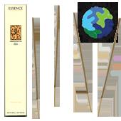 """Encens d' Auroville d' Aromathérapie """" Concentration """" ~ Étui de 12 Bâtonnets"""