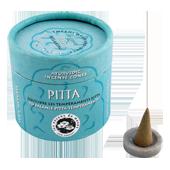 Pitta : Encens Indien Ayurvédique � Pitta � Les Encens du Monde ~ Boîte de 15 Cônes + 1 Porte-Encens