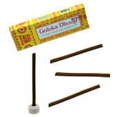 Dhoop Sticks Goloka ~ Boîte de 10 Sticks + 1 Porte-Encens