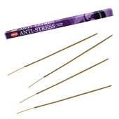Anti-Stress : Encens &#8220; Anti-Stress &#8221; HEM ~ &Eacute;tui de 8 B&acirc;tonnets
