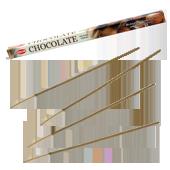 Chocolat : Encens au Chocolat HEM ~ Étui de 8 Bâtonnets