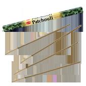 Patchouli : Encens au Patchouli HEM ~ Étui de 8 Bâtonnets