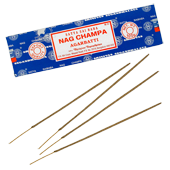Nag Champa : Encens Indien Satya ~ &Eacute;tui de 100 Grammes