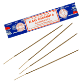 Nag Champa : Encens Indien Satya ~ &Eacute;tui de 15 Grammes