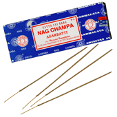 Nag Champa : Encens Indien Satya ~ Bo&icirc;te 250 Grammes