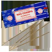 Nag Champa : Encens Indien Satya ~ Boîte 250 Grammes