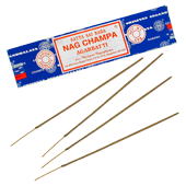 Nag Champa : Encens Indien Satya ~ &Eacute;tui de 40 Grammes