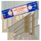 Nag Champa : Encens Indien Satya ~ Étui de 40 Grammes