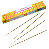 Nag Champa : Encens Indien Goloka ~ Bo&icirc;te de 16 Grammes (15 B&acirc;tonnets)