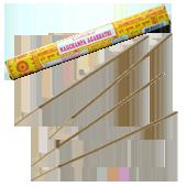 Nag Champa : Encens Indien Goloka ~ Boîte de 20 Grammes (15 Bâtonnets)