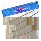 Nag Champa : Encens Indien HEM ~ Étui de 15 Grammes