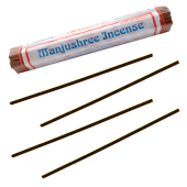 Manjushree Incense : Encens Tib&eacute;tain ~ Fagot de 40 B&acirc;tonnets