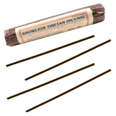 Snowlion Tibetan Incense : Encens Tib&eacute;tain ~ Fagot de 35 B&acirc;tonnets