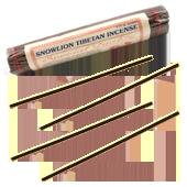 Snowlion Tibetan Incense : Encens Tibétain ~ Fagot de 35 Bâtonnets