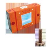 Amritam : Encens Indien Veda ( Maroma ) ~ Boîte de 10 Cônes + 1 Porte-Encens