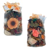 Orange : Pot-Pourri dans Sachet Organdi ( Recharge Incluse )