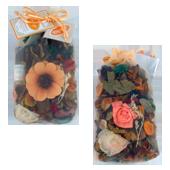 Orange : Pot-Pourri dans Sachet Organdi ( Recharge Incluse )