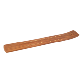 Porte-Encens Bois � Gondole � ~ Longueur : 26,00 cm - Largeur : 3,50 cm