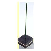 Porte-Encens Pierre Naturelle + Nacre � Kara � ~ Longueur : 3,80 cm - Largeur : 3,80 cm - Hauteur : 2,50 cm