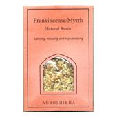 Oliban + Myrrhe : Résine Auroshikha ~ Sachet de 50 Grammes