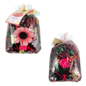 Rose Rouge : Pot-Pourri dans Sachet de 100 Grammes ( Recharge Incluse )
