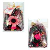 Rose Rouge : Pot-Pourri dans Sachet de 100 Grammes ( Recharge Incluse )