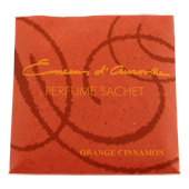 Orange + Cannelle : Sachet Senteur d' Auroville Maroma ~ Sachet de 24 Grammes