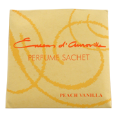 P&ecirc;che + Vanille : Sachet Senteur d' Auroville Maroma ~ Sachet de 24 Grammes