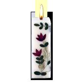 Santal : Bougie Naturelle Parfumée à l' Huile Essentielle