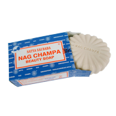 Savonnette Nag Champa de &plusmn;150 grammes.