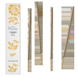 Musc : Encens d' Aromathérapie ( Mantra ) ~ Étui de 12 Bâtonnets