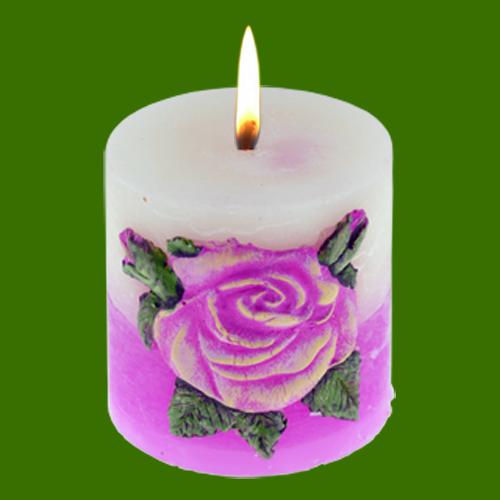 bougie d corative tim baillou fleurs parfum es la. Black Bedroom Furniture Sets. Home Design Ideas