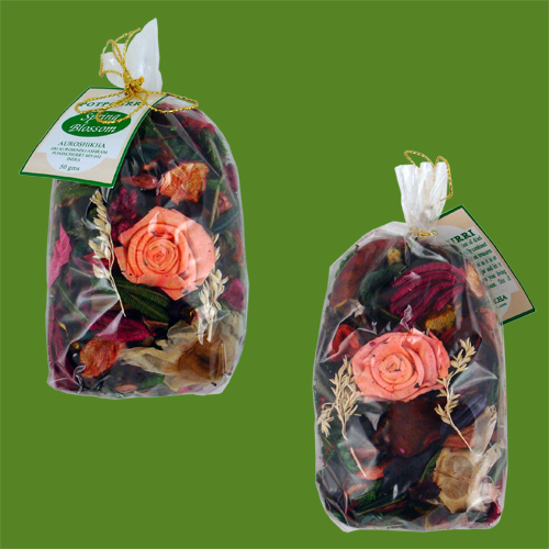 fleurs de printemps pot pourri dans sachet de 50 grammes encens de qualit. Black Bedroom Furniture Sets. Home Design Ideas