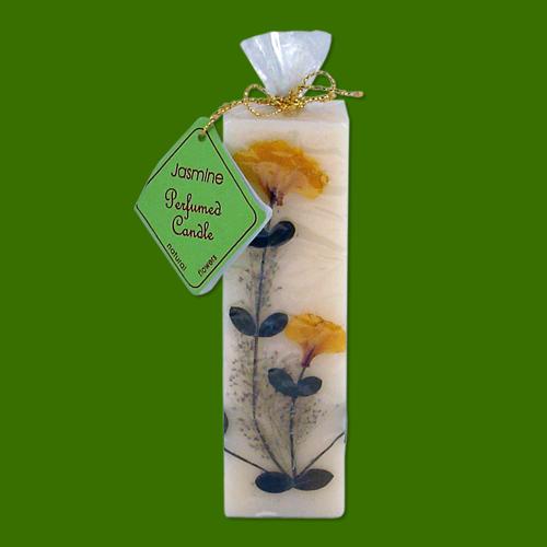 Jasmin bougie naturelle parfum e l 39 huile essentielle encens de qualit - Bougies naturelles aux huiles essentielles ...
