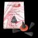 Rosier Grandes Fleurs : Encens Indien Auroshikha ~ Boîte de 14 Cônes + 1 Porte-Encens