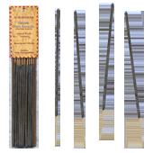R�sine Naturelle de Benjoin de Siam - 10 Batonnets