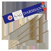 Golden Nag Darshan : Encens Indien Vijayshree ~ Étui de 15 Grammes
