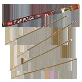 Maison Pure : Encens Indien HEM ~ Étui Carré de 08 Bâtonnets