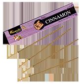 Cannelle : Encens Indien Aromatika ~ Étui de de 15 Grammes