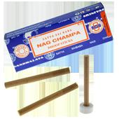 Nag Champa : Encens Indien Satya ~ Boîte de 10 Dhoop Sticks